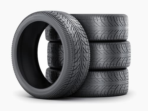 stack of tyres icon